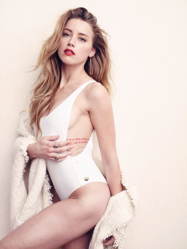 Heard bikini amber Amber Heard